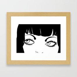 LOVE BUZZ Close up Framed Art Print