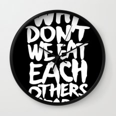 Why don't we eat each others heart? | Dark Wall Clock
