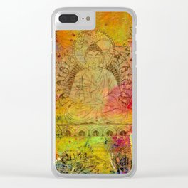 Ethereal Buddha Clear iPhone Case
