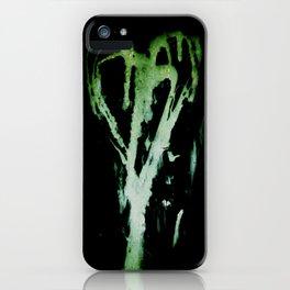 Smeared Romance iPhone Case
