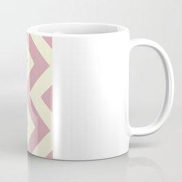 Plum Chevron Coffee Mug