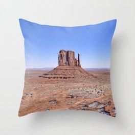 MONUMENT VALLEY-Utah Throw Pillow