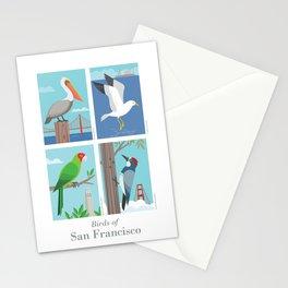 Birds of San Francisco Stationery Cards