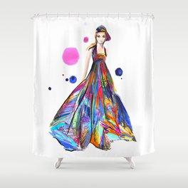 SpringChanel no 2 Shower Curtain
