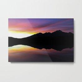 Dreamy Magic Sunset Metal Print