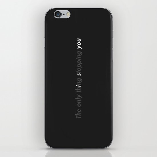 STOPPING iPhone & iPod Skin