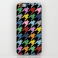 Dogtooth New on Black iPhone & iPod Skin
