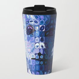 Chuck Close and Personal with Michael Meyers Travel Mug