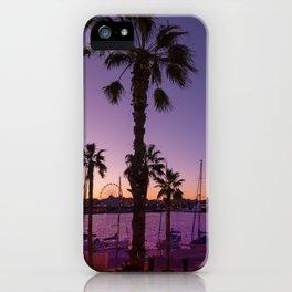 Sunset At Malaga iPhone Case