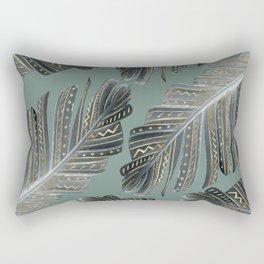 Boho Banana Leaves Glam #1 #tropical #decor #art #society6 Rectangular Pillow