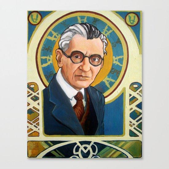 Kurt Gödel Canvas Print