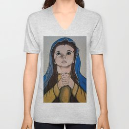 The Holy Child Mary Unisex V-Neck