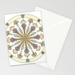 Egyptian Nouveau Mandala Stationery Cards