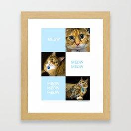 Char Char Char Framed Art Print