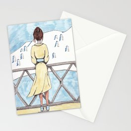 Vanilla Mountains Stationery Cards