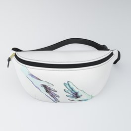 she would touch you with her absent hands Fanny Pack