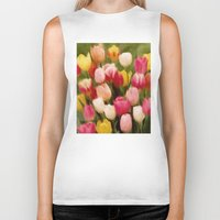 tulips Biker Tanks featuring *Tulips* by Mr and Mrs Quirynen