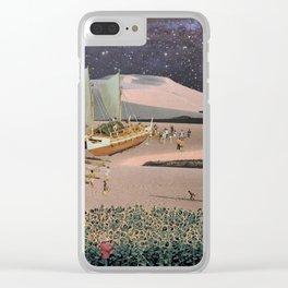 'La Tormenta y el Peregrino' Clear iPhone Case