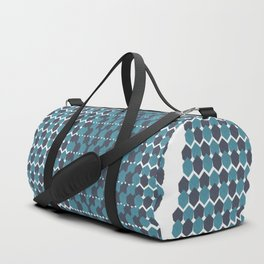 Cubist Ornament Pattern Duffle Bag