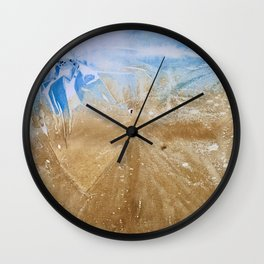 Take me to the beach, Leave me there alone Wall Clock