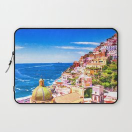 Colorful Positano Italy Laptop Sleeve
