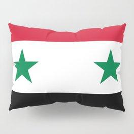 National flag of Syria Pillow Sham