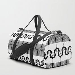 I pick my afro too - black) Duffle Bag