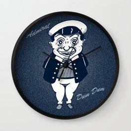 Admiral Dum Dum (Navy) Wall Clock