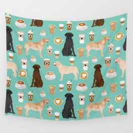 Labrador retriever gifts for lab owners golden retriever chocolate lab black lab dog breeds Wall Tapestry