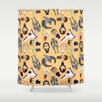 battlestar Shower Curtains featuring So Say We All by frauholle