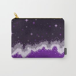 Ace Pride Flag Galaxy Carry-All Pouch