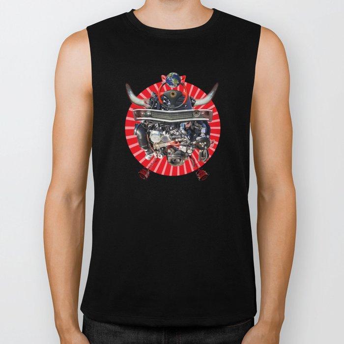 Freeze and Pixillate Biker Tank