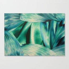 Blue Swirls Canvas Print
