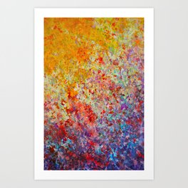 Crepuscular Luminescence Art Print