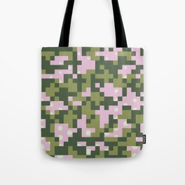 Camo pixel Tote Bag