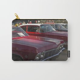 Old-timey Quebec City cars Carry-All Pouch