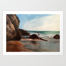 Laguna Beach Hideout Art Print