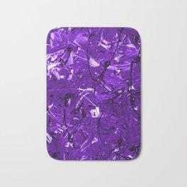 Violet Chaos Bath Mat