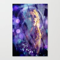 bad wolf Canvas Prints featuring Bad Wolf by Sirenphotos