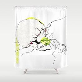 CRANIUM Shower Curtain