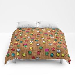 Happy Dancing Junimo Pattern Comforters
