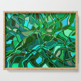 Abstract #8 - V - Jungle Book Serving Tray