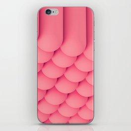 Pink Tubes iPhone Skin