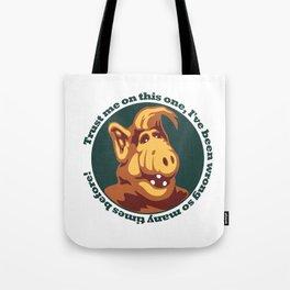Alf guru  Tote Bag