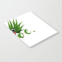 Aloe Funny Gardener Plant Pun design Notebook