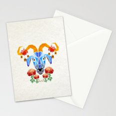 chinese goat Stationery Cards