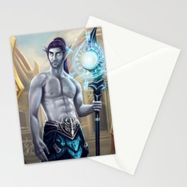 Commander Shadow Stationery Cards