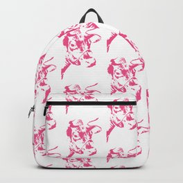 Follow the Herd - All Over Pink #646 Backpack