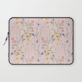 Dreamy Floral Pattern Laptop Sleeve