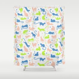 cats, cats and other cats Shower Curtain